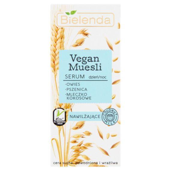 Bielenda, Vegan Muesli Serum nawilżające dzień/noc, 30ml