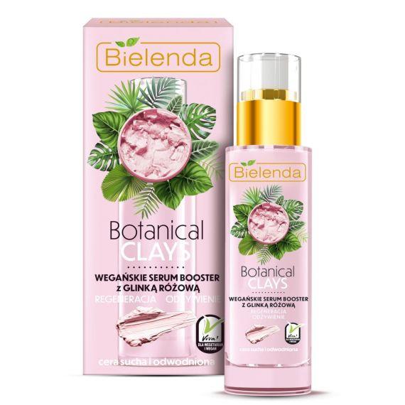Bielenda, Botanical Clays wegańskie Serum Booster z glinką różową, 30ml