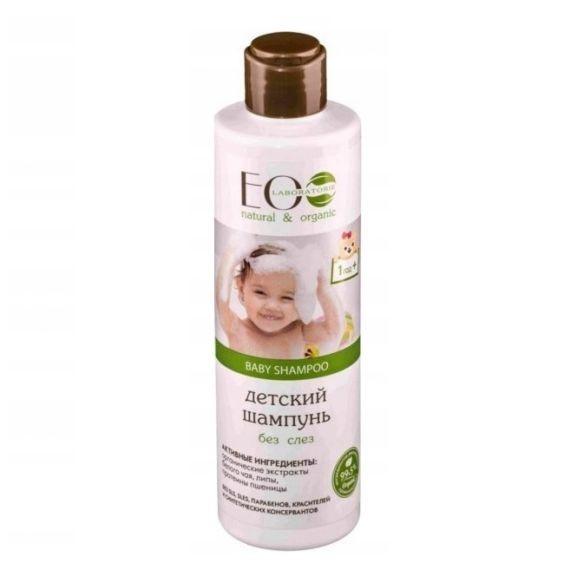 ECOLAB BABY CARE, Szampon do włosów dla dzieci od 1 roku życia - bez łez, 250 ml
