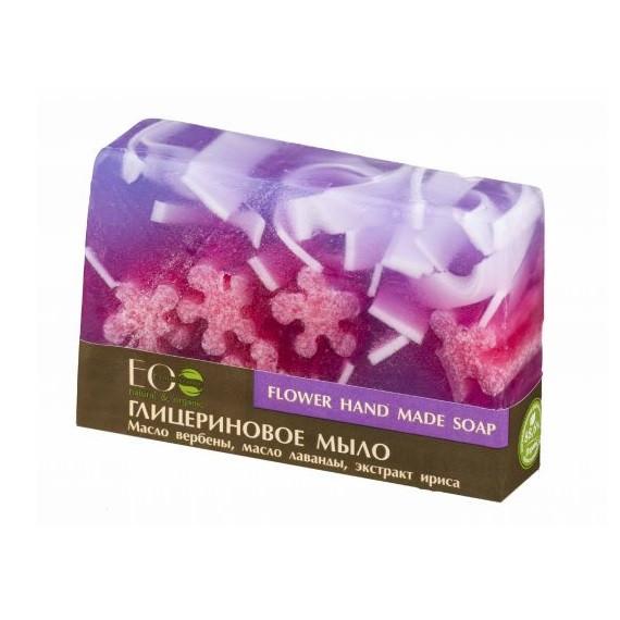 ECOLAB, Naturalne mydło glicerynowe - ręcznie robione – kwiatowe, 130 g