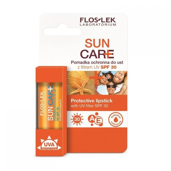 Flos-Lek, Sun Care Pomadka ochronna SPF 30
