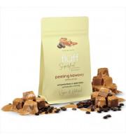 Fluff, Peeling kawowy do ciała - karmel, 100g