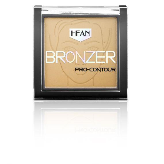 Hean, Puder Bronzer Pro-Contour 401 Amaretto, 8,5g