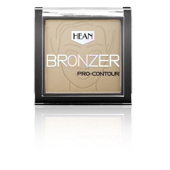 Hean, Puder Bronzer Pro-Contour 402 Almond, 8,5g