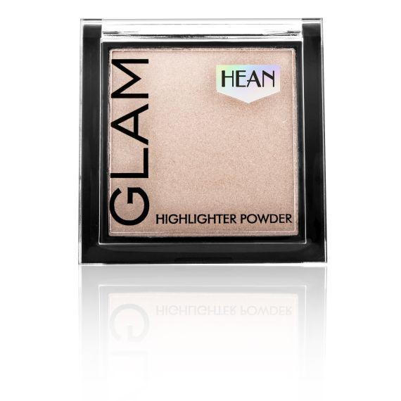 Hean, Puder Rozświetlający Glam Highlighter 202 Lychee Glow, 7,5g