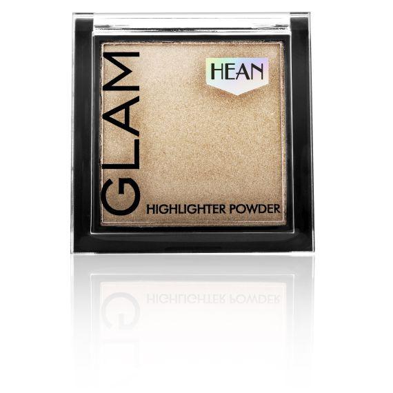 Hean, Puder Rozświetlający Glam Highlighter 205 Creamy Glow, 7,5g