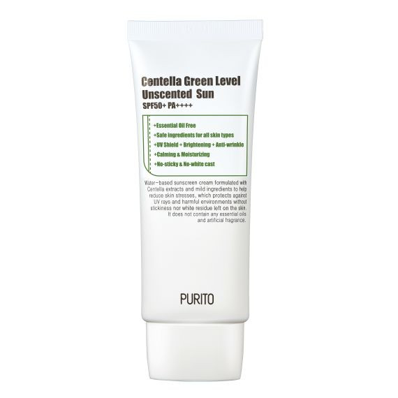 PURITO, Centella Green Level Unscented Sun, 60ml