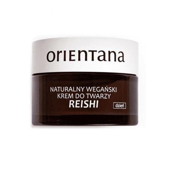 Orientana, Reishi naturalny wegański krem do twarzy na dzień, 50ml