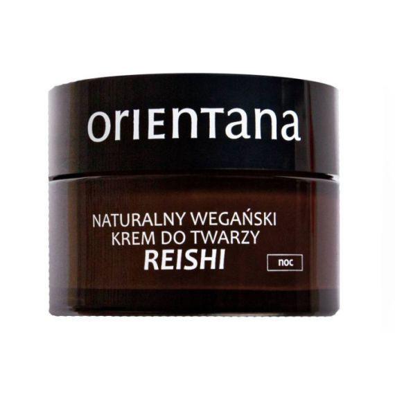 Orientana, Reishi naturalny wegański krem do twarzy na noc, 50ml