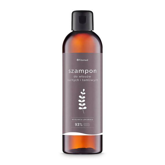 Fitomed, Szampon do włosów suchych i łamliwych - Mydlnica Lekarska, 250 ml