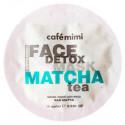 Cafe Mimi, Maseczka-scrub do twarzy, MATCHA & ALOE VERA, 10 ml