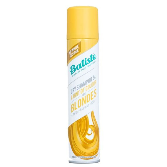Batiste, Suchy szampon, Light & Blonde, 200 ml