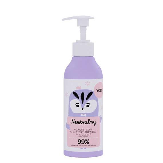 Yope, Płyn do higieny intymnej dla Dzieci Naturalny Bezzapachowy, 300 ml