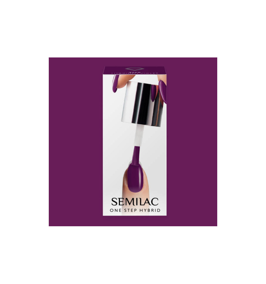 Semilac, S760 One Step Hybrid, Hyacinth Violet, 5 ml