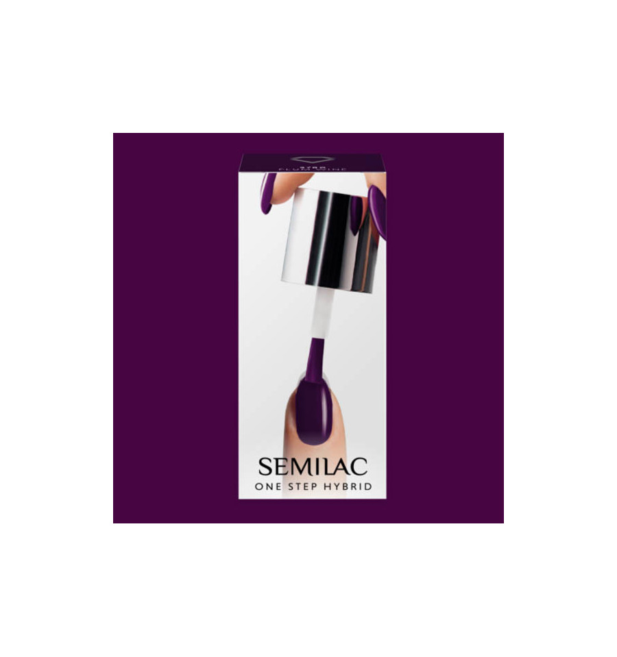Semilac, S780 One Step Hybrid, Plum Wine, 5 ml