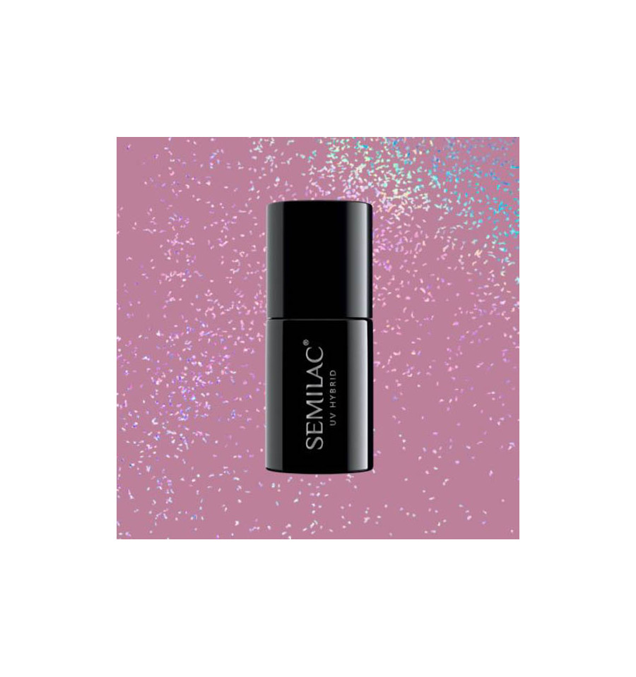 Semilac, 319 Shimmer Dust Pink, 7ml