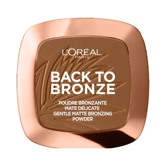 L'Oréal, Back to bronze, Puder brązujący, 9 g