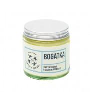 Mydlarnia Cztery Szpaki, Bogatka - Naturalna świeca sojowa, kwiatowa, 100 g