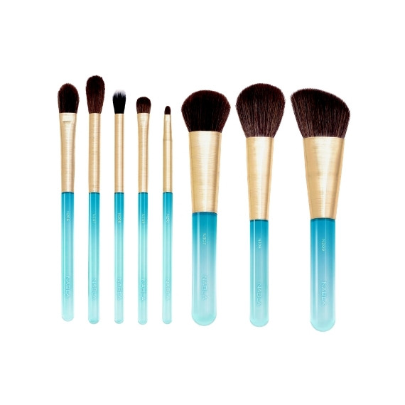 Nabla, Aquamarine Brush Set, Zestaw pędzli