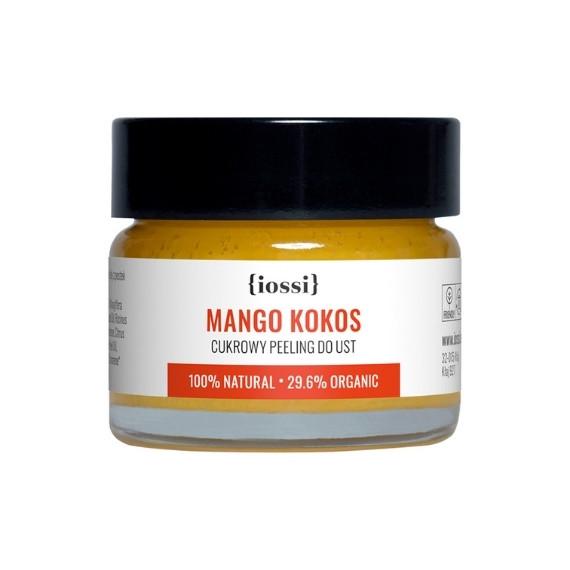IOSSI, Peeling do ust Mango & Kokos, 15 ml