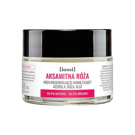 IOSSI, Regenerująco-nawilżający krem Aksamitna róża, 50 ml
