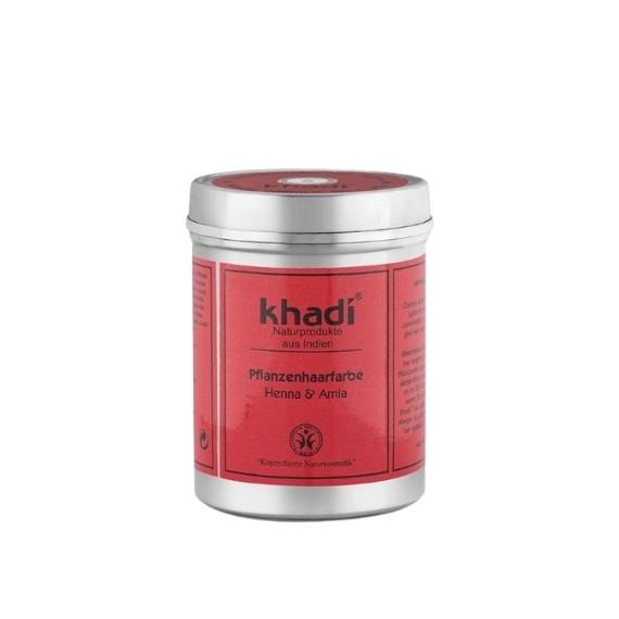 Khadi, Henna z Amlą, Kasztanowo-miedziany brąz, 150 g