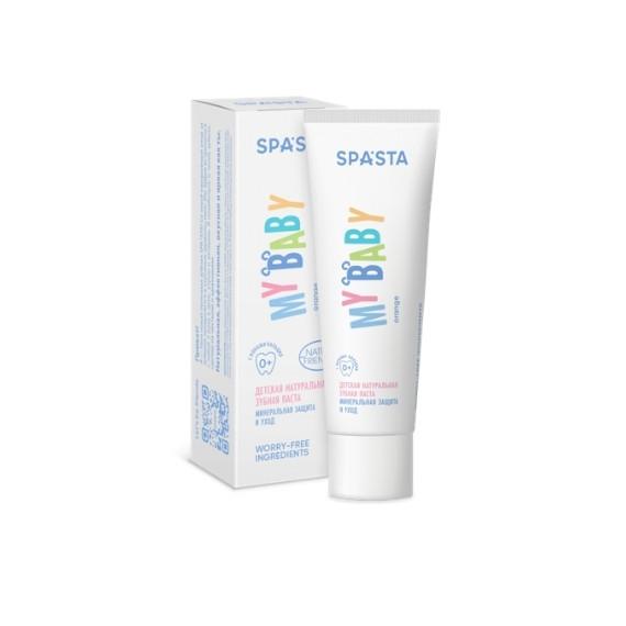 Spasta, Naturalna pasta do zębów dla dzieci - My Baby, 50ml