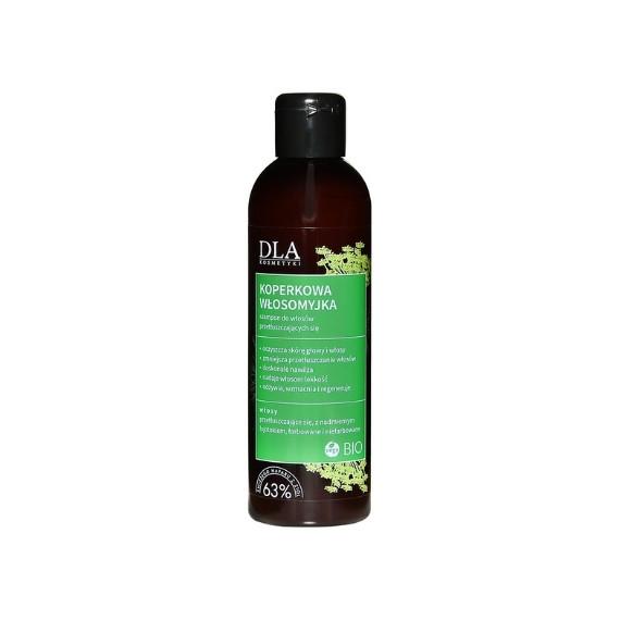 Kosmetyki DLA, Koperkowa Włosomyjka, Szampon do włosów przetłuszczających się, 200g