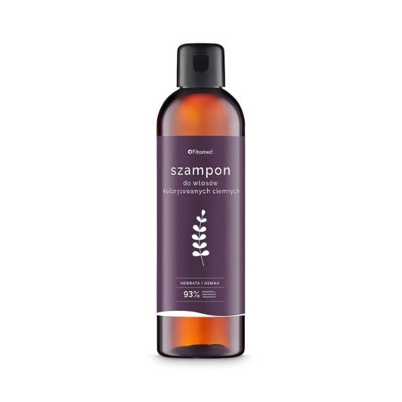 Fitomed, Szampon ziołowy do włosów koloryzowanych, odcienie ciemne, 250 g