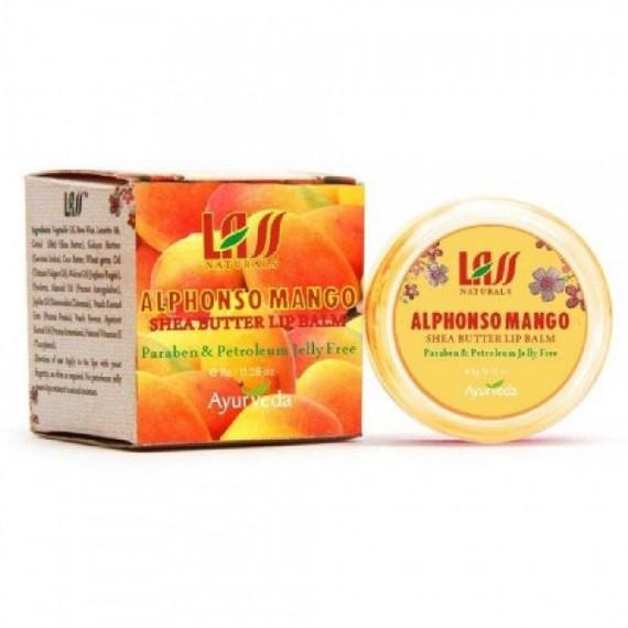 Lass Naturals, Balsam do ust z mango, 8g