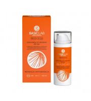 BasicLab, Lekki krem ochronny do twarzy SPF50+, 50 ml