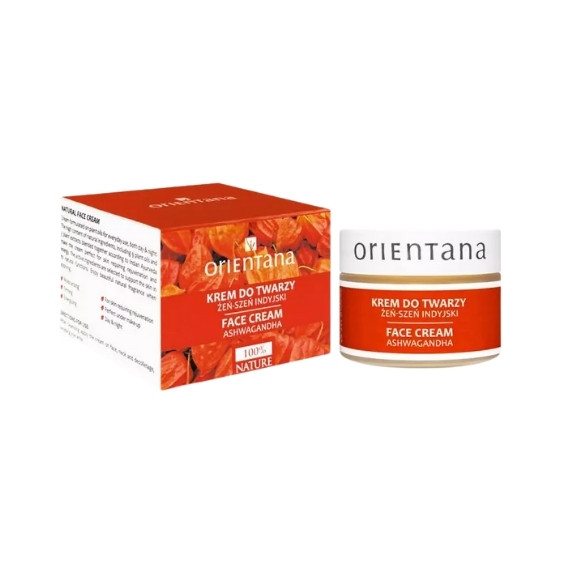 Orientana, Krem do twarzy, żeń-szeń indyjski, 40 g