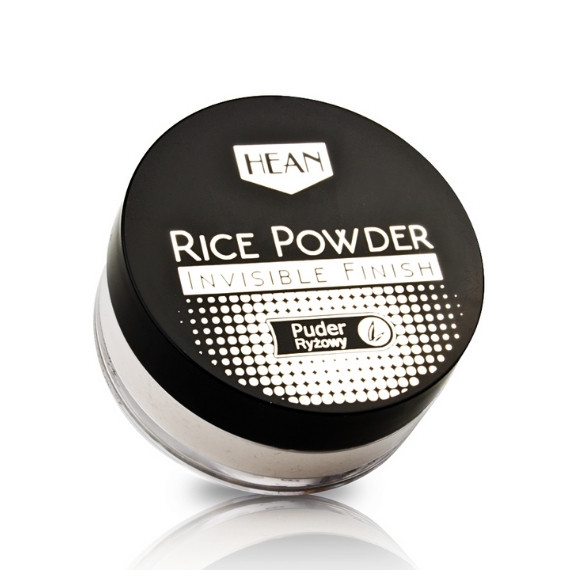 Hean, Rice Powder Invisible Finish, Puder ryżowy, 8 g