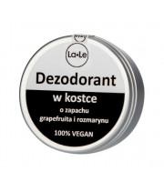 La-Le, Dezodorant w kostce o zapachu grapefruita i rozmarynu, 50 ml
