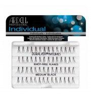 Ardell, Individual Duralash Knot-Free Flares Medium Black, Kępki