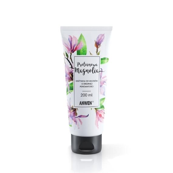 Anwen, Proteinowa Magnolia - odżywka do włosów o średniej porowatości, 200 ml