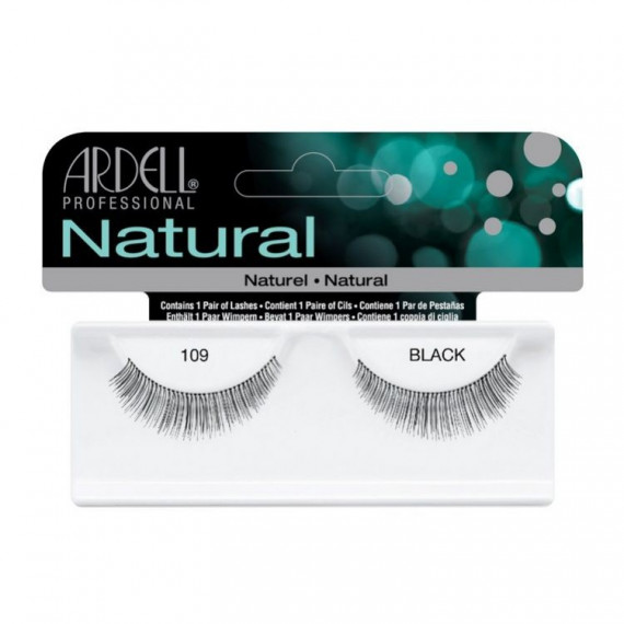 Ardell, Rzęsy NATURAL 109 BLACK