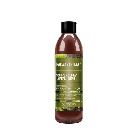 Barwa, Szampon tatarakowo-chmielowy BARWA ZIOŁOWA, 250 ml