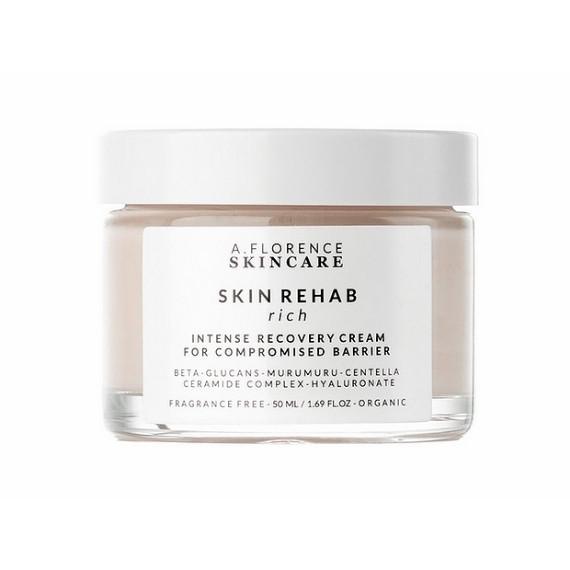 A.Florence Skincare, Rehab Rich Cream, Krem Odżywczy do Skóry Suchej, Wrażliwej, Podrażnionej, 50 ml