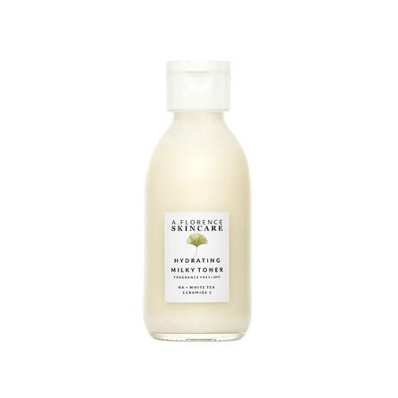 A.Florence Skincare, Hydrating Milky Toner, Nawilżający Tonik z Ceramidami i Kwasem Hialuronowym, 150 ml
