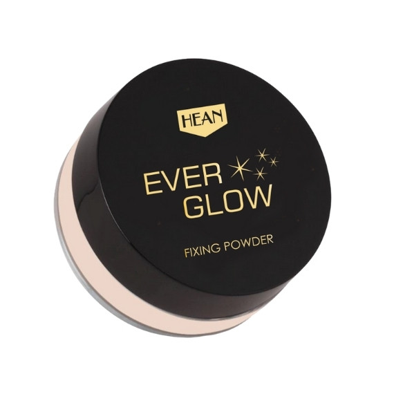 Hean, Ever Glow Fixing Powder, Puder utrwalający z efektem rozświetlenia, 8 g