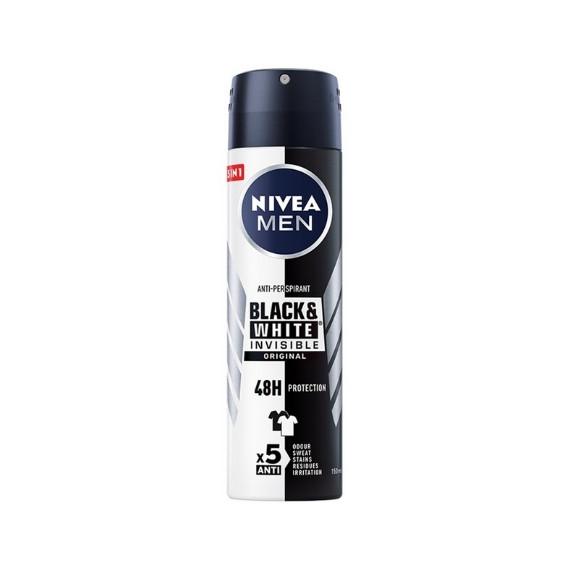 Nivea Men, Invisible Power, Antyperspirant w sprayu, 150 ml