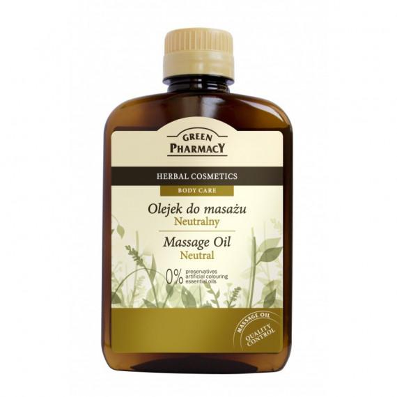 Green Pharmacy, Olejek do masażu NEUTRALNY, 200 ml