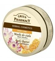 Green Pharmacy, Masło do ciała Miód i Rooibos, 200 ml