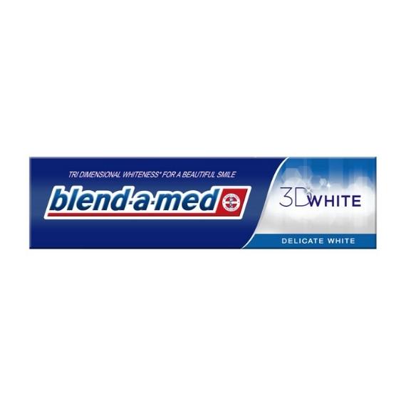 Blend-a-med, Pasta do zębów 3D White Delicate White, 100 ml