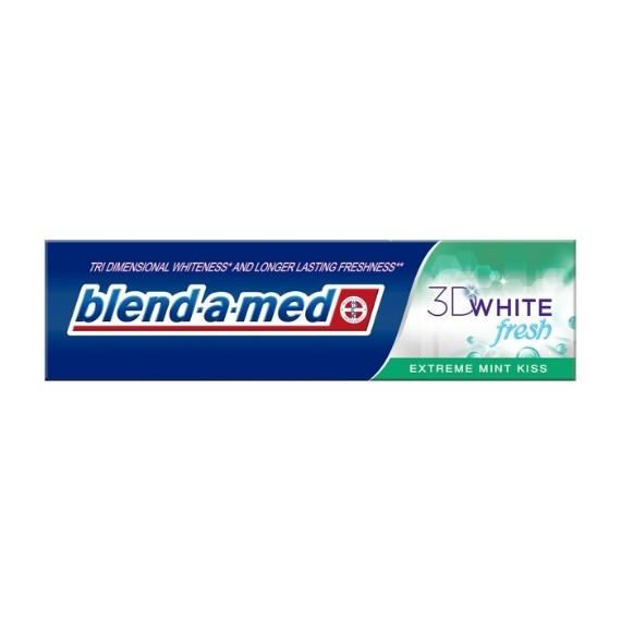 Blend-a-med, Pasta do zębów 3D White Fresh, Extreme Mint Kiss, 100 ml