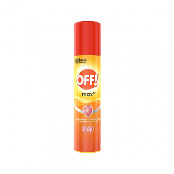 OFF!, Max Repelent w aerozolu, 100 ml