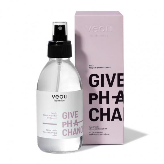 Veoli Botanica, GIVE pH A CHANCE, Tonik – kojąca mgiełka do twarzy, 200 ml