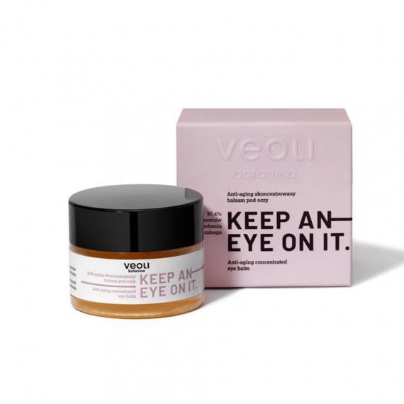 Veoli Botanica, KEEP AN EYE ON IT, Anti-aging skoncentrowany balsam pod oczy, 15 ml
