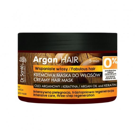 Dr. Sante, Maska regenerująca do włosów z olejem arganowym i keratyną, 300 ml